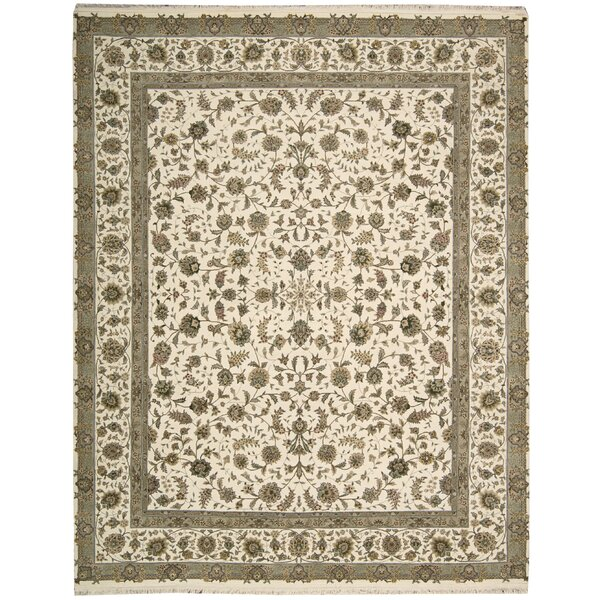 Beason Hand-Woven Ivory Area Rug by Darby Home Co