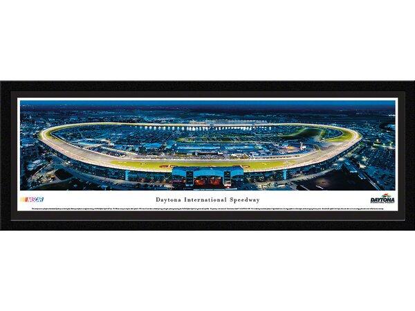 NASCAR Daytona International Speedway by James Blakeway Framed Photographic Print by Blakeway Worldwide Panoramas, Inc