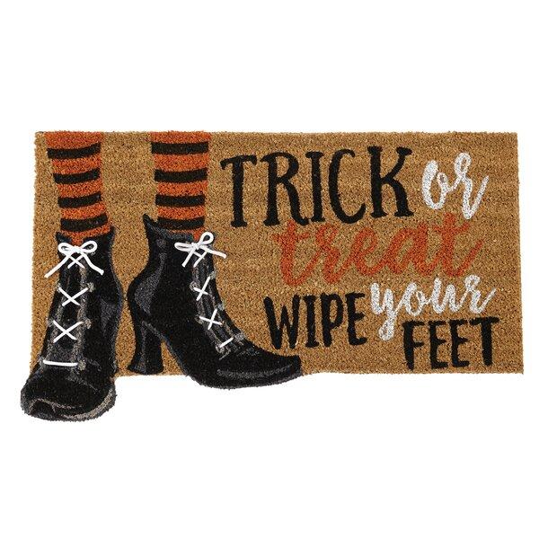 Halloween Witch Shoe Doormat by Mud Pie™