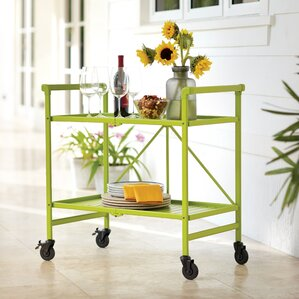 Linfield Bar Cart by Beachcrest Home