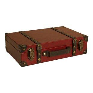 Suitcase decor wayfair keel suitcase trunk gumiabroncs Gallery