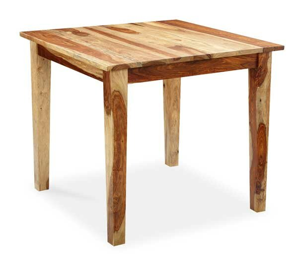 Reaves Solid Wood Dining Table by Loon Peak