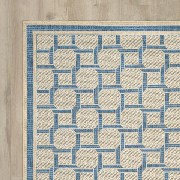 Resort Cream / Blue Area Rug by Martha Stewart Rugs