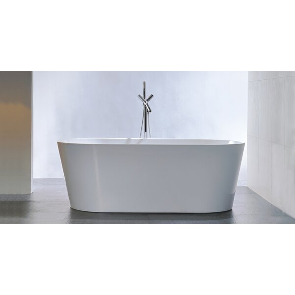 HelixBath Agora 59 x 29.5 Soaking Bathtub by Kardiel