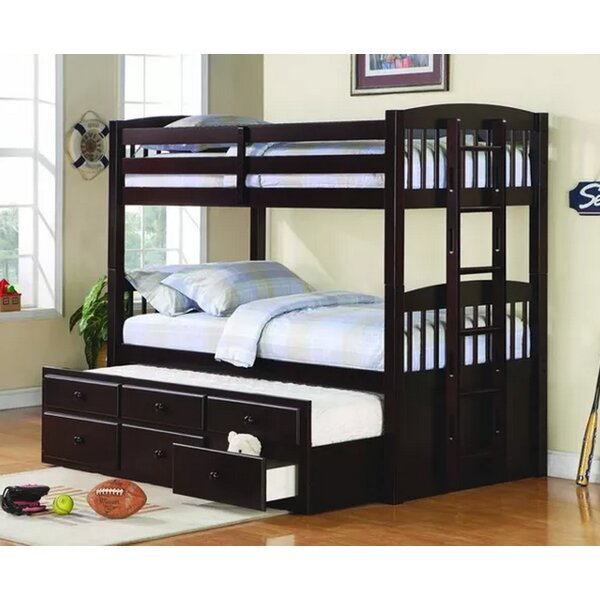 Bernal Twin over Twin Bunk Bed with Trundle by Harriet Bee