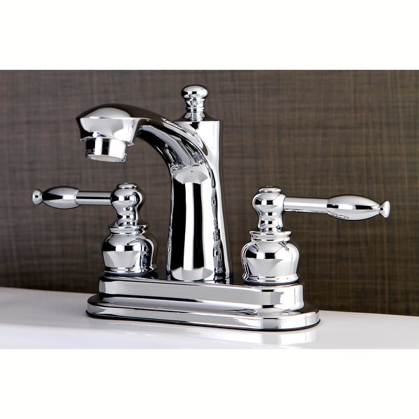 Knight Centerset Bathroom Faucet with Drain Assembly by Kingston Brass Kingston Brass