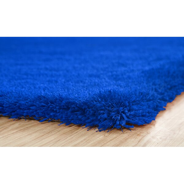 Stenger Hand Tufted Electric Blue Area Rug by Latitude Run