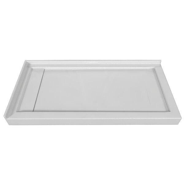 Signature Acrylic 60 x 32 Double Threshold Shower Base