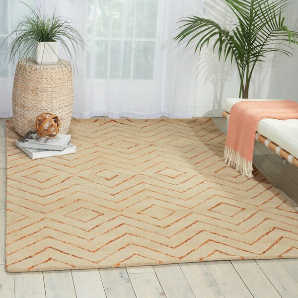 Spartacus Hand-Woven Sand Area Rug by Corrigan Studio