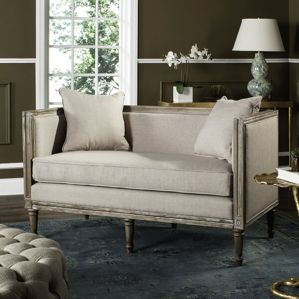 Latest Style Ashbaugh Settee by Lark Manor by Lark Manor