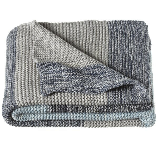 Winton Knit Throw by Rosecliff Heights