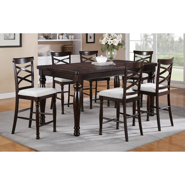 Hawkes Extendable Dining Table by Darby Home Co Darby Home Co