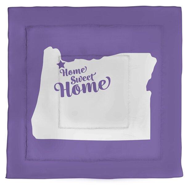 Portland Home Sweet Single Reversible Comforter