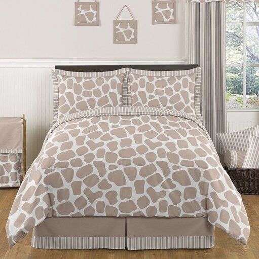 Giraffe 3 Piece Comforter Set by Sweet Jojo Designs