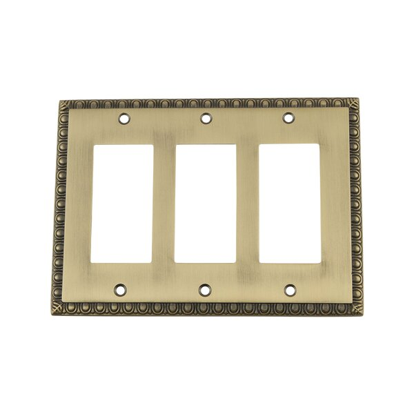 Egg & Dart Light Switch Plate by Nostalgic Warehouse