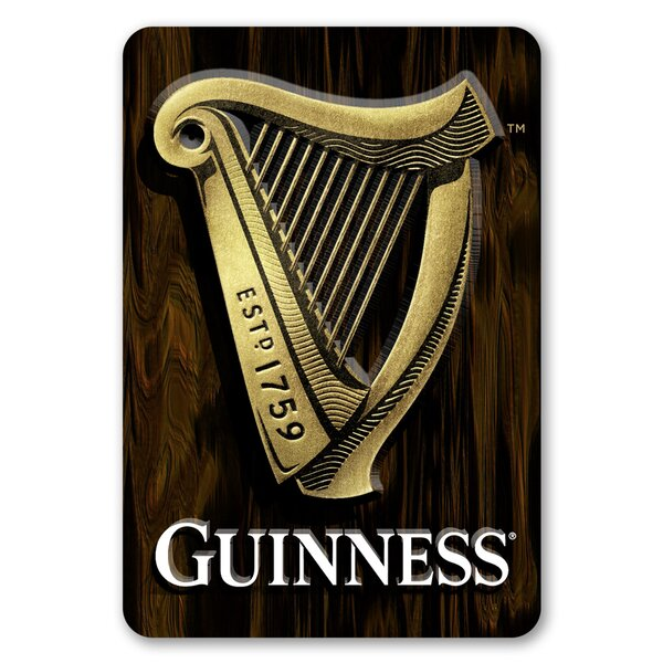 Guinness Harp Wall Décor by PB