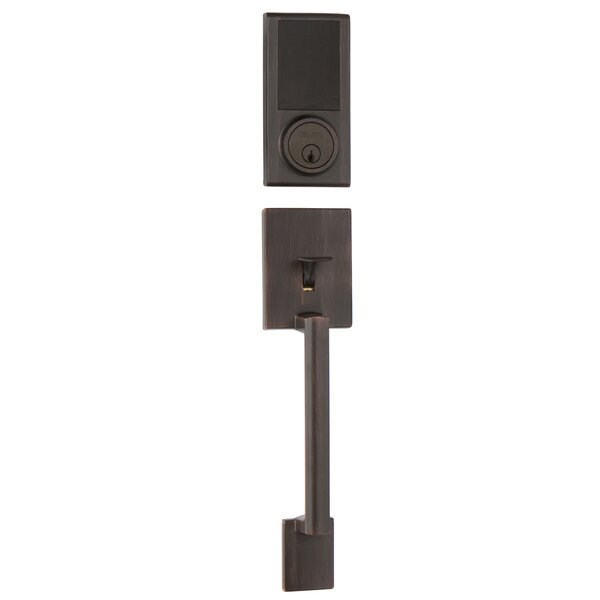 KP300 Touchscreen Digital Deadbolt  Single Cylinder Handleset Interior Lever by Delaney Hardware