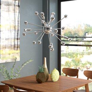 Clearance Bacchus 12-Light Sputnik Chandelier By Wade Logan