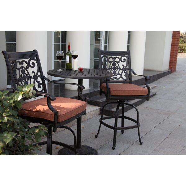 Mckinney Metal Bar Table by Astoria Grand