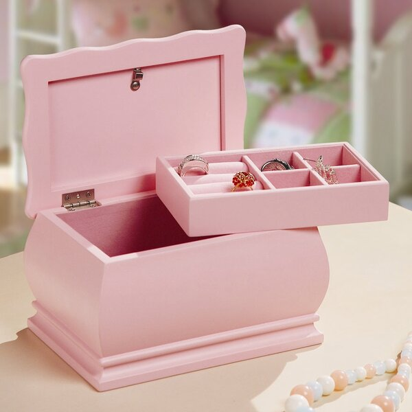 Princess Dianna Jewelry Box by Wildon Home ®