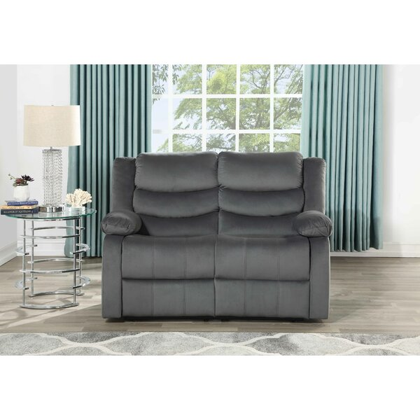 Chad Reclining Loveseat by Andover Mills