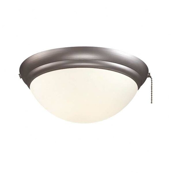 Universal 1-Light Bowl Ceiling Fan Light Kit by Minka Aire