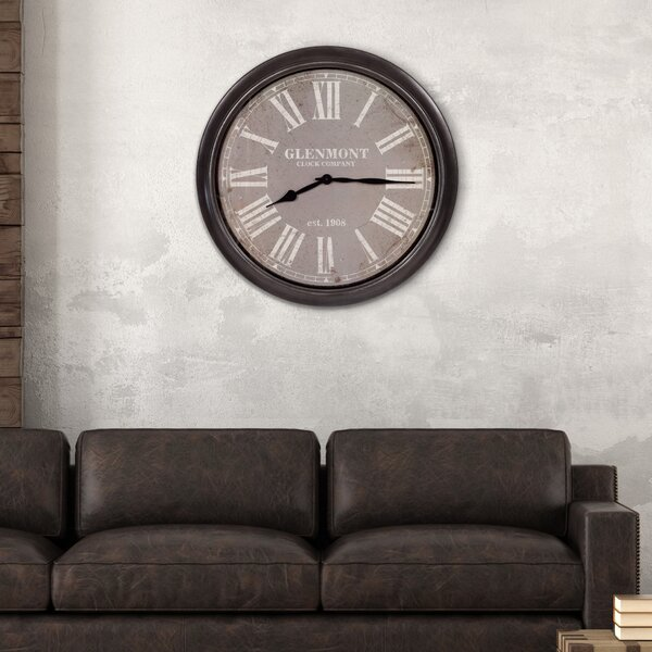 Oversized Glenmont 30 Wall Clock by Nielsen Bainbridge