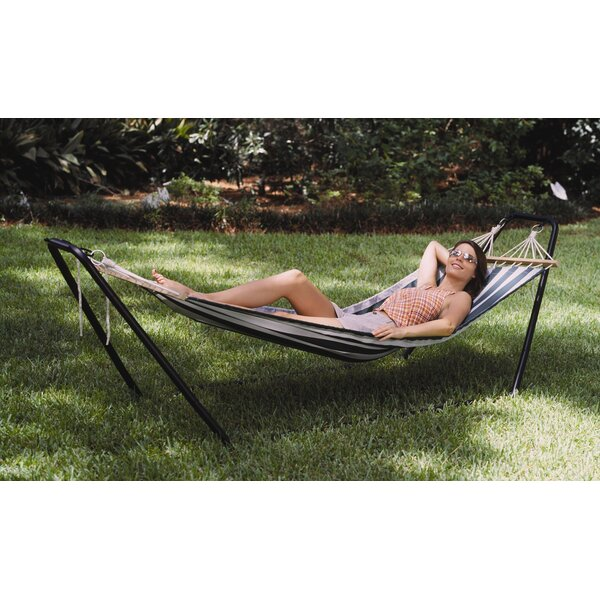 Crystal Bay PVC Hammock with Stand by Texsport