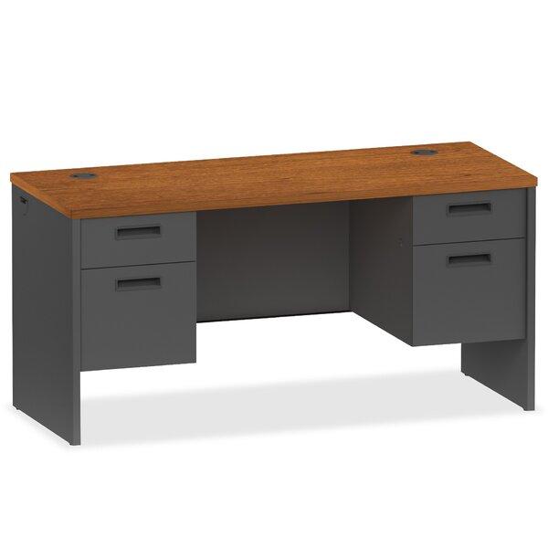 97000 Modular Series Pedestal Executive Desk by Lorell