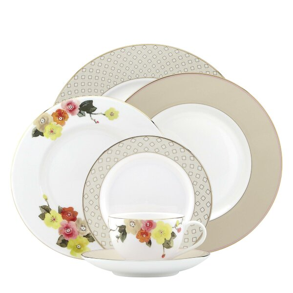 Waverly Pond Bone China 5 Piece Place Setting, Service for 1 by kate spade new york