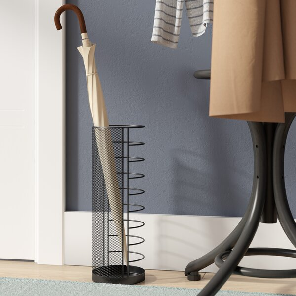 Metal Mesh Umbrella Stand by Mind Reader