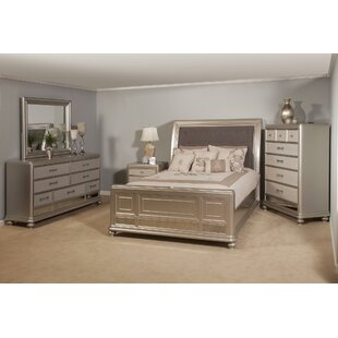 Sleigh 4 Piece Bedroom Set By Rosdorf Park