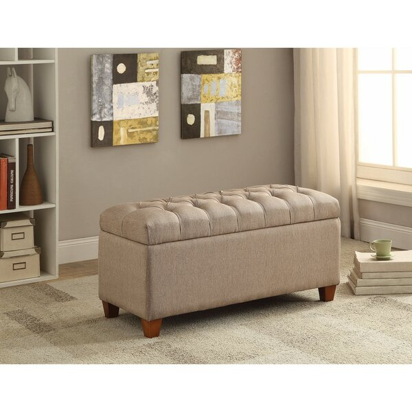 Kenyon Functionally Stylish Upholstered Storage Bench by Alcott Hill