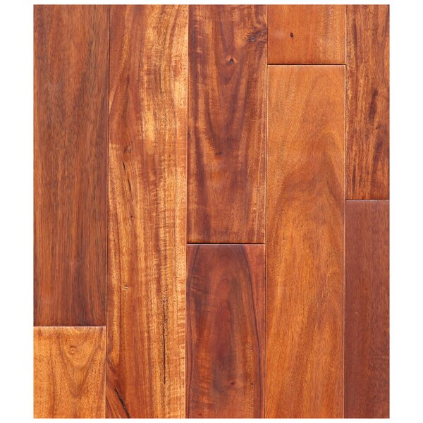 3-1/2 Engineered Pacific Acacia Hardwood Flooring in Amber by Easoon USA
