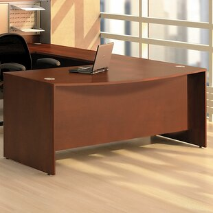 Compare & Buy Quantum Bow Front Executive Desk Shell by Bush Business Furniture