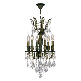 Dodson 6-Light 40W Candle Style Chandelier by Astoria Grand