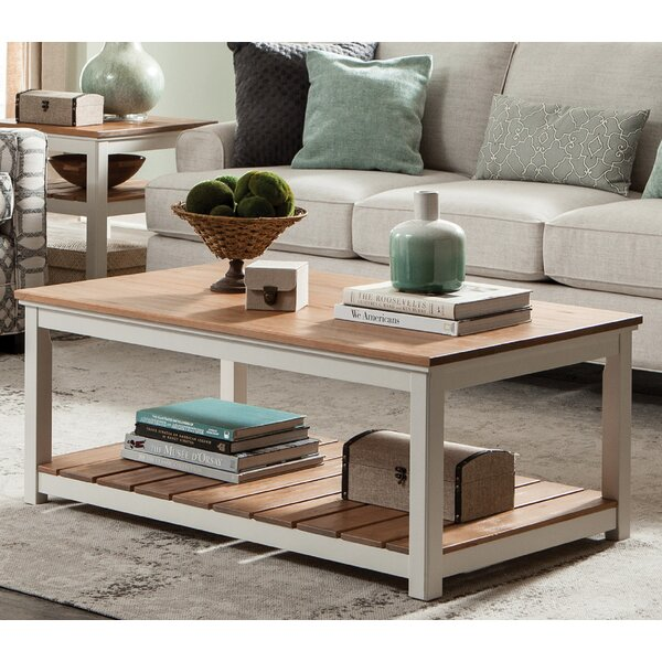 Gilmore Coffee Table by Rosecliff Heights