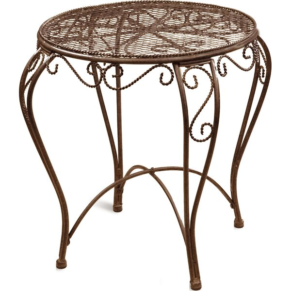 Riggio Metal Side Table by August Grove