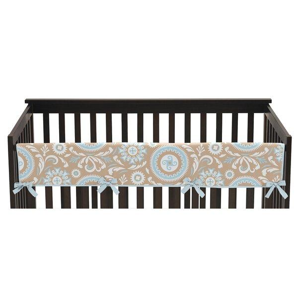 Hayden Long Crib Rail Guard Cover by Sweet Jojo Designs