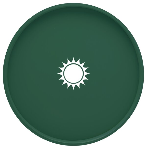 Highlawn Round Serving Tray by Winston Porter