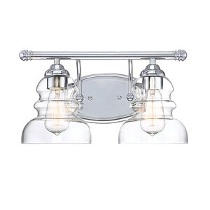 Jayla 2-Light Vanity Light Beachcrest Home