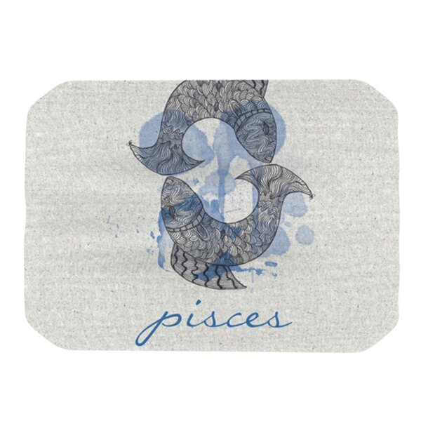 Pisces Placemat by KESS InHouse