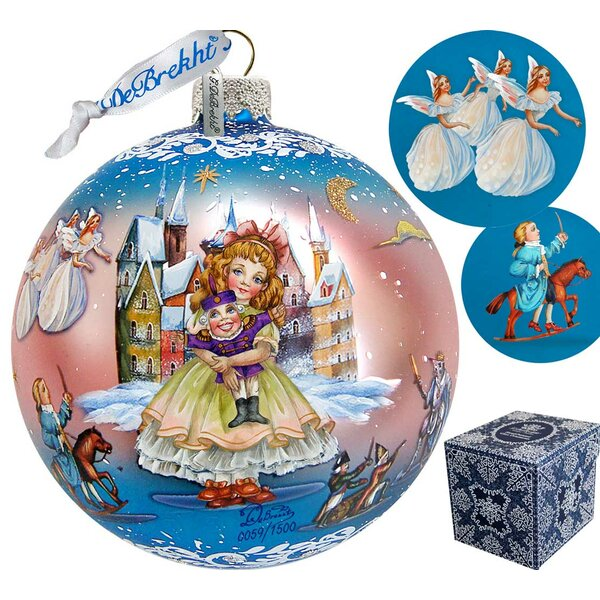 Limited Edition Nutcracker Fairytale Glass Ball Ornament by The Holiday Aisle