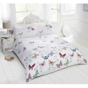 butterflies duvet set