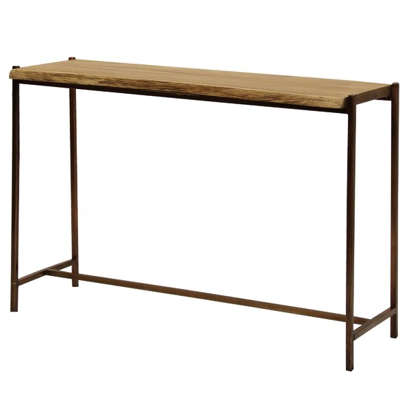 Dule Live Edge Console Table by Williston Forge