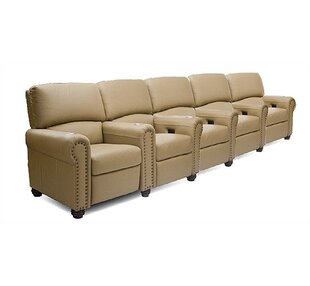 Showtime Home Theater Lounger Row of 5  by Bass
