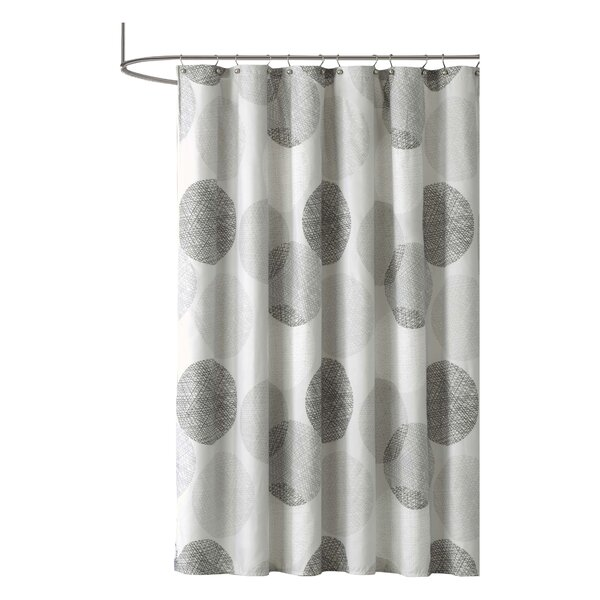 Jeske Microfiber Shower Curtain by Zipcode Design