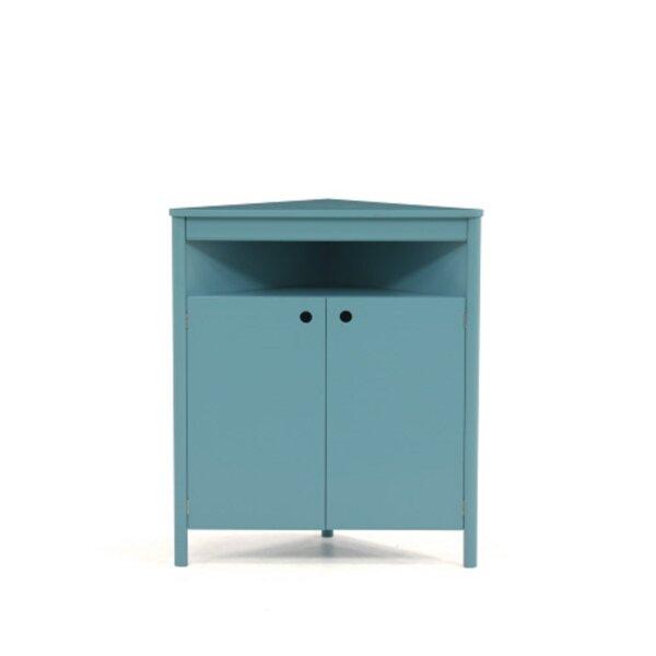 Arquilla 2 Door Corner Accent Cabinet by Brayden Studio Brayden Studio