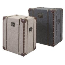 Outer Banks 2 Piece Storage Trunk Set by Trisha Yearwood Home Collection