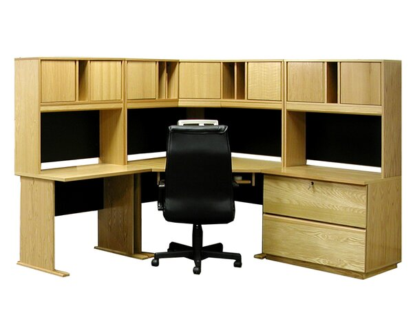Office Modulars Computer Desk with Hutch And Chair Set